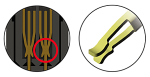 double-beam contact